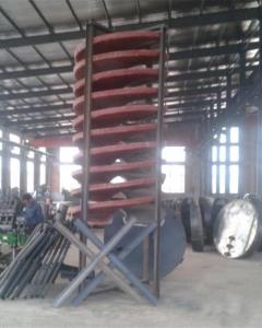 螺旋溜槽生产车间