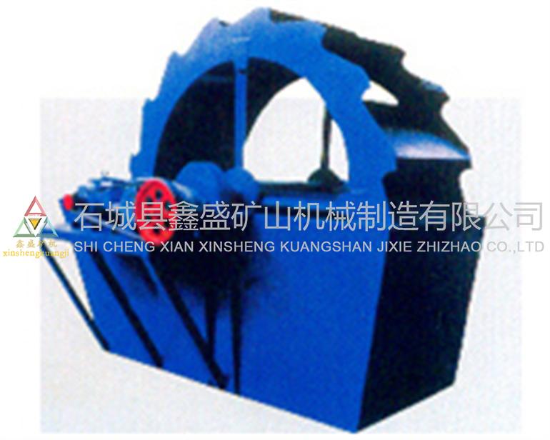 轮式洗矿机